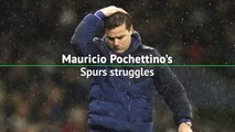 Mauricio Pochettino's Spurs struggles