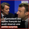 Congrès des maires: Baroin prend à partie Macron sur la taxe d'habitation