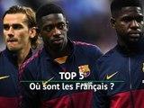 Top 5 - Où sont les Français ?