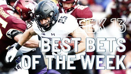Week 13: College Football Best Bets of the Week