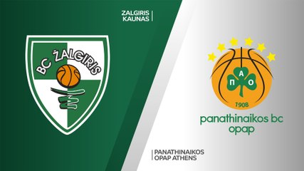 EuroLeague 2019-20 Highlights Regular Season Round 9 video: Zalgiris 85-86 Panathinaikos