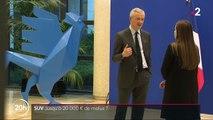 Environnement : Bruno Le Maire veut augmenter le malus des acheteurs de SUV