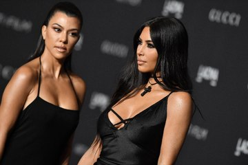 Kourtney Kardashian Is Arguing with Haters About Her 5-Month-Old Feud with Kim Kardashian
