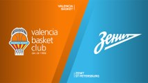 Valencia Basket - Zenit St Petersburg Highlights | Turkish Airlines EuroLeague, RS Round 9