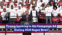 Trump Wants His Ad Aired During The Super Bowl