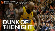 Endesa Dunk of the Night: Quincy Acy, Maccabi FOX Tel Aviv