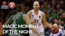 7DAYS Magic Moment of the Night: Nick Calathes, Panathinaikos OPAP Athens