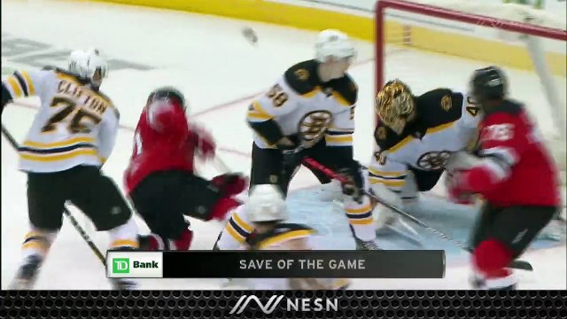 Tuukka Rask Thrives As Bruins Wallop Devils, Get Back in Win Column