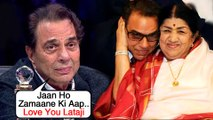 Dharmendra Gets Emotional For Lata Mangeshkar's Health | Shares Old Picture