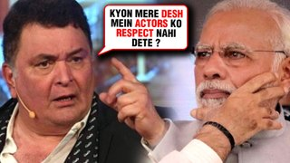 ANGRY Rishi Kapoor SLAMS Indian Government For Not Respecting INDIAN Artists