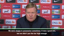 Netherlands performance not good enough for Euros - Koeman