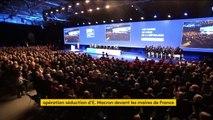 Congrès des maires de France : opération séduction pour Macron