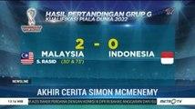 Hasil Kualifikasi Piala Dunia 2022: Timnas Indonesia Menyerah 0-2 dari Malaysia