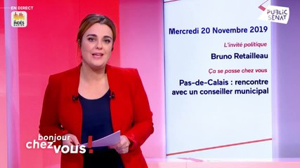 Bruno Retailleau - Public Sénat mercredi 20 novembre 2019