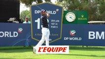 Benjamin Hébert en formation serrée - Golf - Tour européen