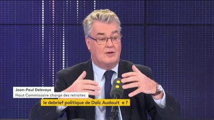Jean-Paul Delevoye - Franceinfo mercredi 20 novembre 2019