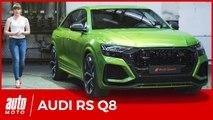 Audi RSQ8 (2019): coeur d'Urus