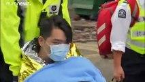 Hong Kong : les derniers reclus de l'Université polytechnique résistent
