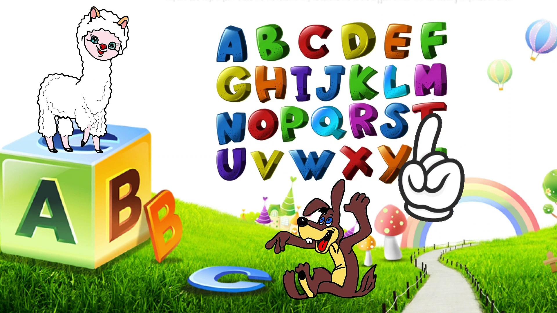 Baca alpaca alphabet instrumental