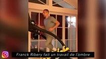 Franck Ribery fait un travail de l'ombre