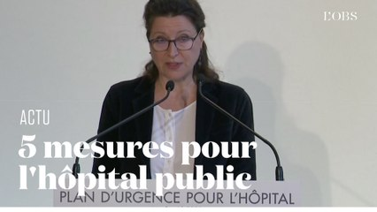 Les 5 annonces du gouvernement pour l'hôpital public en trois minutes