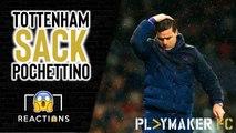 "Reactions | ""I'm very scared"" - Tottenham fans react to Pochettino sacking"