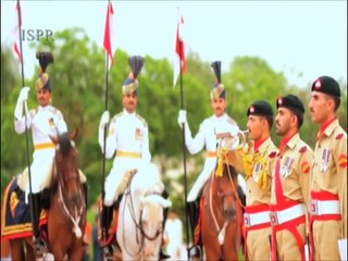 Chand Roshan Chamakta Sitara Rahe  (ISPR Official Video)