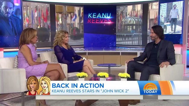 Keanu Reeves Talks 'John Wick 2, Fields Trivia Questions From Hoda   TODAY