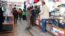 - Suriyeli çocuklara anlamlı günde anlamlı sürpriz- Çeşitli işlerde çalışan Suriyeli çocuklara sürpriz hediyeler dağıtıldı