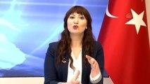 Denizli'de kanseri yenen sunucu programa peruksuz çıktı