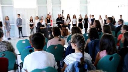chorale du collège Jean Rostand des Martres-de-Veyre 1