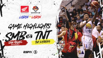 Highlights: San Miguel vs TNT | PBA Governors' Cup 2019
