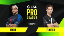 CSGO - FURIA vs. eUnited [Vertigo] Map 2 - Group B - ESL NA Pro League Season 10