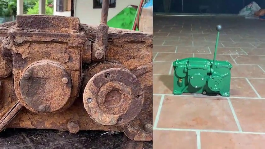 Restoration A Very Old 15 Gear Reducer