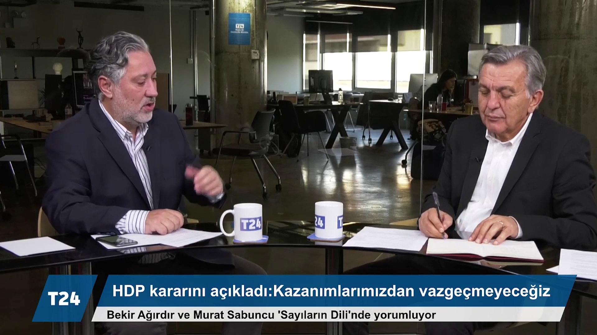KONDA Genel Müdürü Ağırdır: HDP'nin 'demokratik siyasete devam kararı'na sahip çıkılmalı, Kürt meselesinin çözüm adresi Türkiye ve HDP'dir