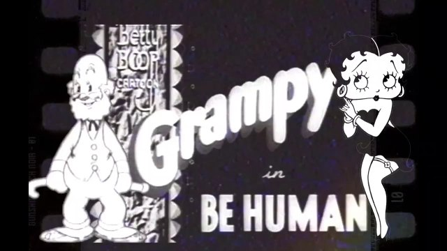 "Betty Boop and Grampy in ""Be Human"" (1936)"