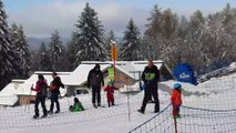 Ouverture de la saison de ski à_la_Planche_des Belles Filles