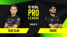 CSGO - Fnatic vs. FaZe Clan [Train] Map 3 - Group B - ESL EU Pro League Season 10
