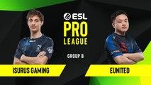 CSGO - Isurus Gaming vs. eUnited [Overpass] Map 1 - Group B - ESL NA Pro League Season 10