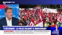 Grève du 5 décembre: la police rejoint le mouvement (1/2) - 20/11