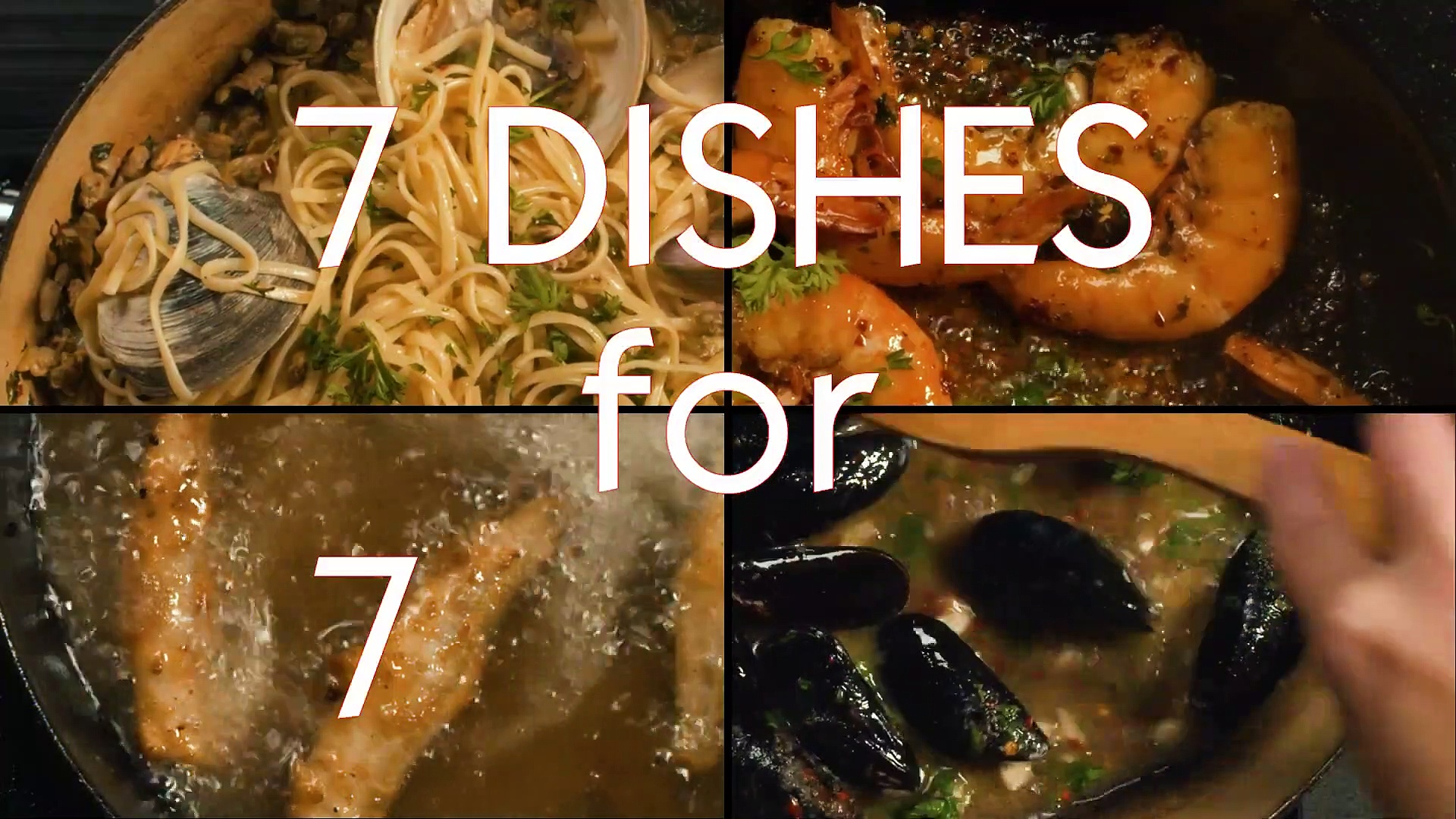 FEAST OF THE SEVEN FISHES movie – Spicy Shrimp