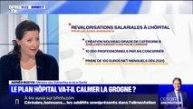 """Agnès Buzyn: """"les primes vont permettre de rendre très attractif le travail en hôpital public"""""""
