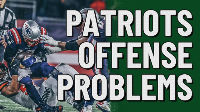 The Pats' offense has major problems | Stacking the Box