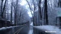A winter wonderland in central Pennsylvania
