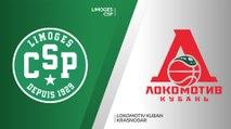 CSP Limoges - Lokomotiv Kuban Krasnodar Highlights | 7DAYS EuroCup, RS Round 8