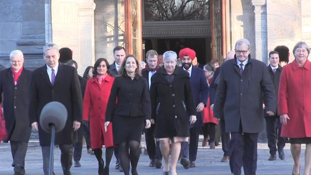 Federal Liberal cabinet unveiled, sworn in