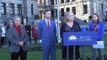 B.C. raises flag at legislature marking Transgender Day of Remembrance