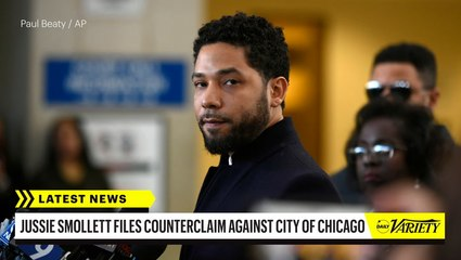 Jussie Smollett Files Malicious Prosecution Counterclaim Against City of Chicago