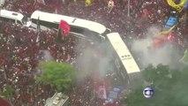 Flamengo given crazy send-off for Copa Libertadores final