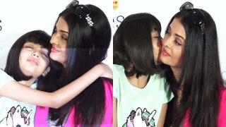 Aradhya Bacchan kisses to her mother Aishwarya Rai Bacchan | Boldsky